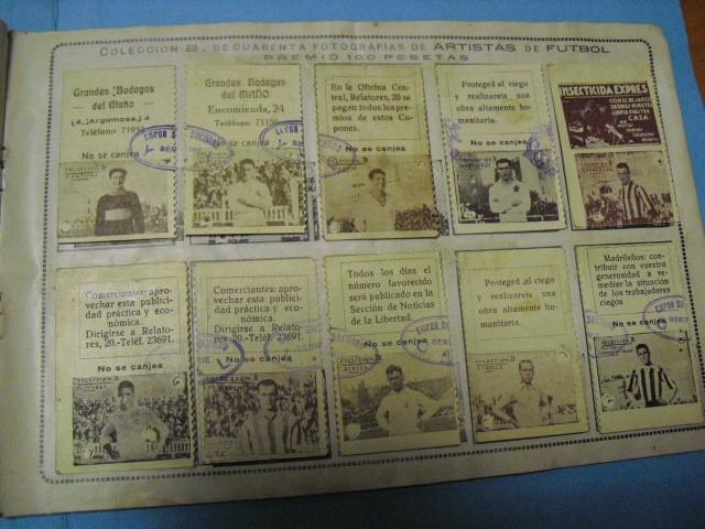 Cupones ONCE: album cupon de la union de trabajadores ciegos, 1933 de madrid - Foto 8 - 103313311