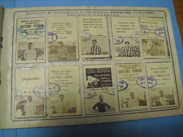 Cupones ONCE: album cupon de la union de trabajadores ciegos, 1933 de madrid - Foto 10 - 103313311