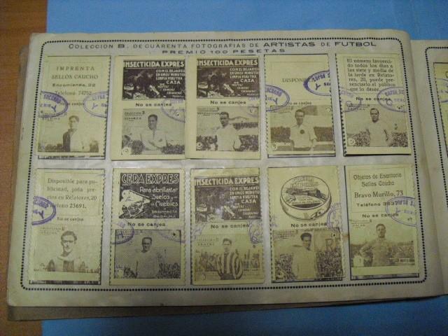 Cupones ONCE: album cupon de la union de trabajadores ciegos, 1933 de madrid - Foto 11 - 103313311