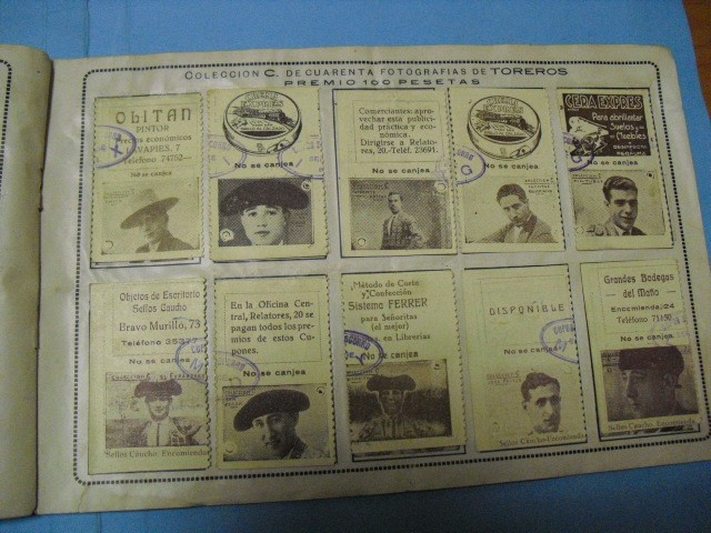 Cupones ONCE: album cupon de la union de trabajadores ciegos, 1933 de madrid - Foto 12 - 103313311