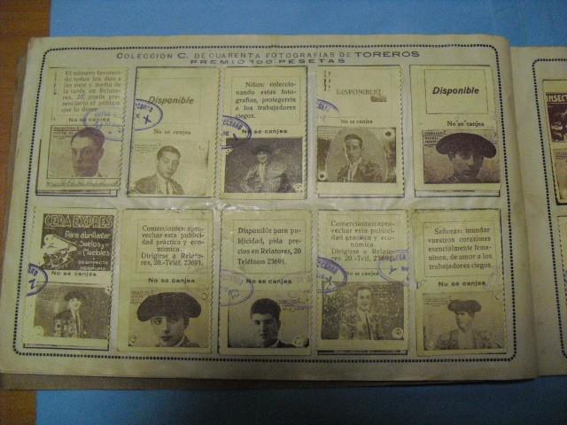 Cupones ONCE: album cupon de la union de trabajadores ciegos, 1933 de madrid - Foto 13 - 103313311