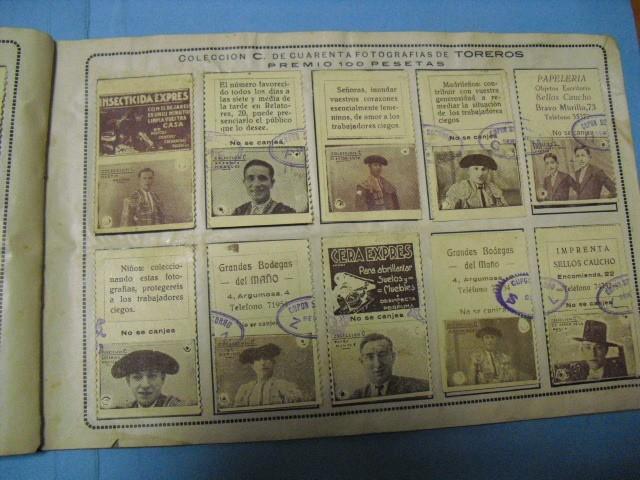 Cupones ONCE: album cupon de la union de trabajadores ciegos, 1933 de madrid - Foto 14 - 103313311