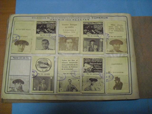 Cupones ONCE: album cupon de la union de trabajadores ciegos, 1933 de madrid - Foto 15 - 103313311