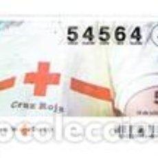 Cupones ONCE: SORTEO DE LA CRUZ ROJA, SERIE 33 DEL 2013. Lote 104370051