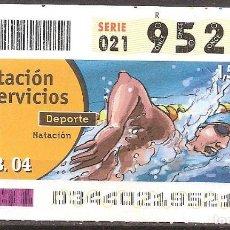 Billets ONCE: ONCE,PRESTACION DE SERVICIOS,03/02/2004.. Lote 107840443