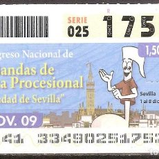 Billets ONCE: ONCE,BANDAS DE MUSICA PROCESIONAL.30/11/2009.. Lote 108678079