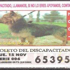 Billets ONCE: CUPON DE LA OID,15/11/2001.. Lote 110592247