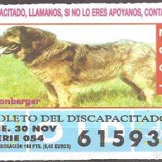 Billets ONCE: CUPON DE LA OID,30/11/2001.. Lote 110592647