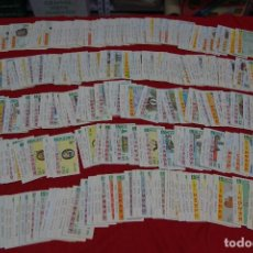 Cupones ONCE: LOTE DE CUPONES DE LA ONCE. Lote 117844779