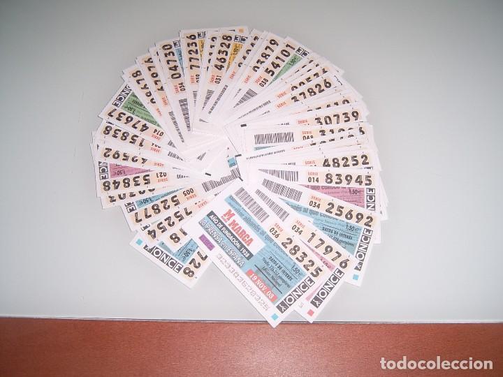 COLECCION CUPONES DE LA ONCE (Coleccionismo - Lotería - Cupones ONCE)