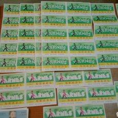 Cupones ONCE: 723 CUPONES DE LA ONCE, CUPÓN DEL VIERNES, 1987. Lote 138690720