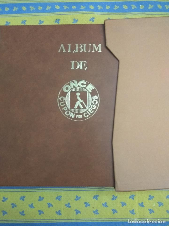 Cupones ONCE: CURIOSO ALBUM DE 1000 CUPONES DE LA ONCE - Foto 2 - 143031850