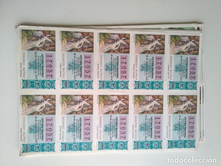 LOTE 25 PLIEGOS DE 10 DECIMOS LOTERÍA 1978, 1980, 1988 (Coleccionismo - Lotería - Cupones ONCE)