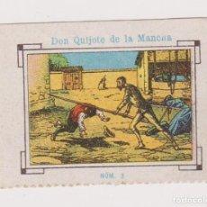 Cupones ONCE: CUPÓN SOCIEDAD CIEGOS LA HISPALENSE.1934. DON QUIJOTE DE LA MANCHA. EXCELENTE ESTADO. Lote 144784162