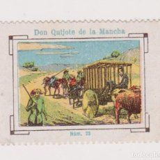 Cupones ONCE: CUPÓN SOCIEDAD CIEGOS LA HISPALENSE.1934. DON QUIJOTE DE LA MANCHA. EXCELENTE ESTADO. Lote 144784578
