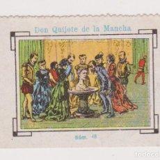 Cupones ONCE: CUPÓN SOCIEDAD CIEGOS LA HISPALENSE.1934. DON QUIJOTE DE LA MANCHA. EXCELENTE ESTADO. Lote 144784850