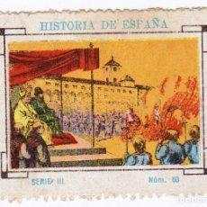 Cupones ONCE: CUPÓN SOCIEDAD CIEGOS LA HISPALENSE.1935. HISTORIA DE ESPAÑA. EXCELENTE ESTADO. Lote 144782930