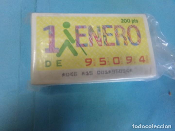 CUPON ONCE 1986 AÑO COMPLETO (Coleccionismo - Lotería - Cupones ONCE)