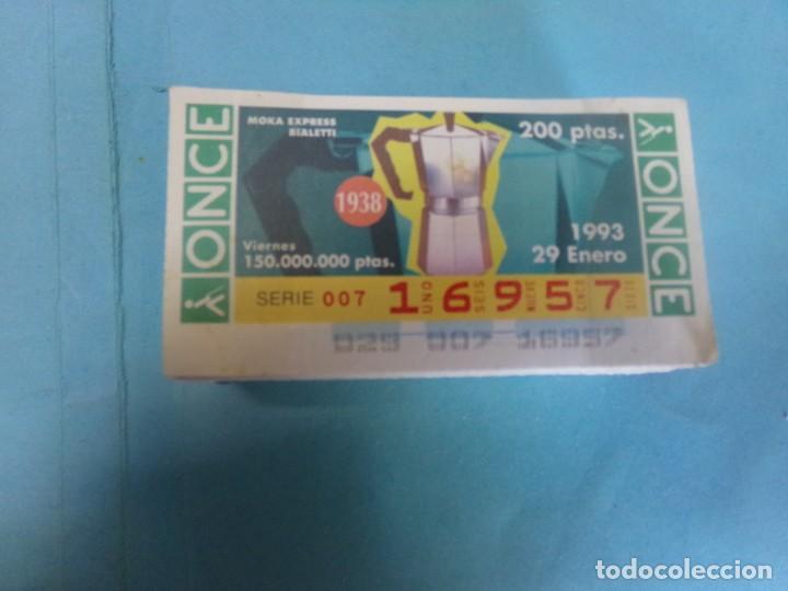 CUPON ONCE 1993, AÑO COMPLETO (Coleccionismo - Lotería - Cupones ONCE)