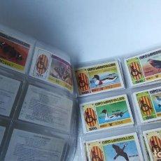 Cupones ONCE: LOTE DE 39 CUPONES LOTERÍA MINUSVÁLIDOS AÑO 1990. Lote 151899386