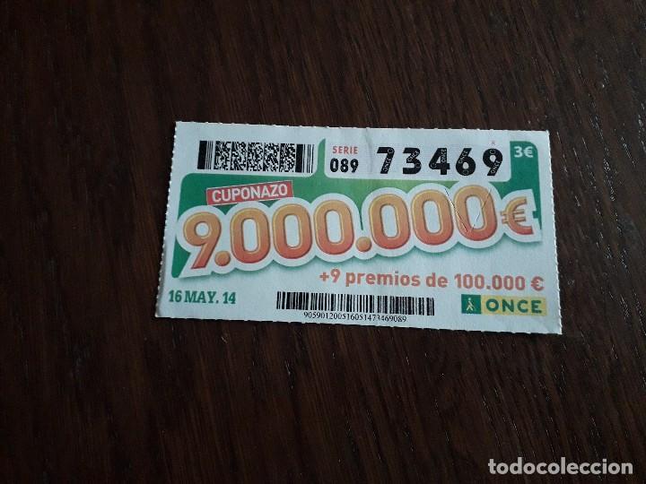 CUPÓN ONCE 16-05-14 CUPONAZO. (Coleccionismo - Lotería - Cupones ONCE)