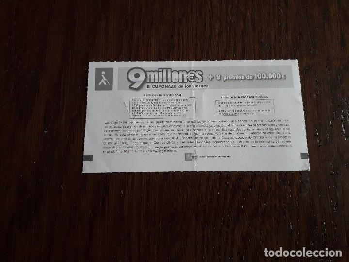 Cupones ONCE: cupón once 25-04-14 cuponazo. - Foto 2 - 160636482