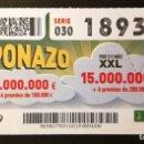 Cupones ONCE: Nº 18934 (11/ENERO/2019). Lote 161344002