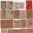 Cupones ONCE: 51 CUPÓN,CORRELATIVOS DEL 1933 AL 1983,EN ESTE LOTE NO HAY DESCUENTO. Lote 162163998