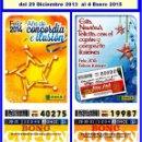 Cupones ONCE: 2014 AÑO COMPLETO - BONO SEMANAL DE LA ONCE / ENTERO SIN CORTAR / CALIDAD MUY BUENA. Lote 165618442