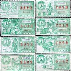 Cupones ONCE: 24 CUPONES ONCE 1984, SERIE PRO CIEGOS, BUEN ESTADO DE CONSERVACIÓN.. Lote 166458714