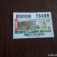 Cupones ONCE: CUPÓN ONCE 04-09-16 MADERUELO, SEGOVIA. PUEBLOS BONITOS DE ESPAÑA.. Lote 168764952