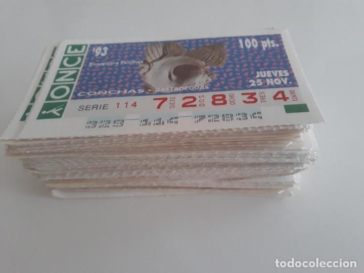 Cupones ONCE: Lote de + de 150 cupones ONCE - Comprendidos entre los años 1990 al 1995. (Ver descripción) - Foto 2 - 169431496