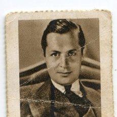 Cupones ONCE: CUPÓN BENÉFICO DE LOS CIEGOS SANTANDER. ARTISTAS DE CINE. 24/04/1936 ROBERT MONTGOMERY. Lote 169611964
