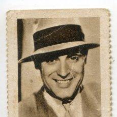 Cupones ONCE: CUPÓN BENÉFICO DE LOS CIEGOS SANTANDER. ARTISTAS DE CINE. 25/05/1936 CARY GRANT. Lote 169612308