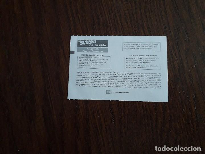 Cupones ONCE: cupón once 19-11-16 UDP, unión democrática de pensionistas, 40 años de un pais. - Foto 2 - 171073862