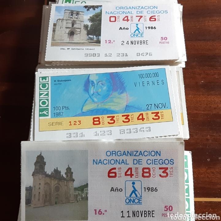 NUMEROS DE LA ONCE 250 (Coleccionismo - Lotería - Cupones ONCE)