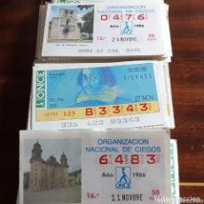 Cupones ONCE: NUMEROS DE LA ONCE 250. Lote 174044449