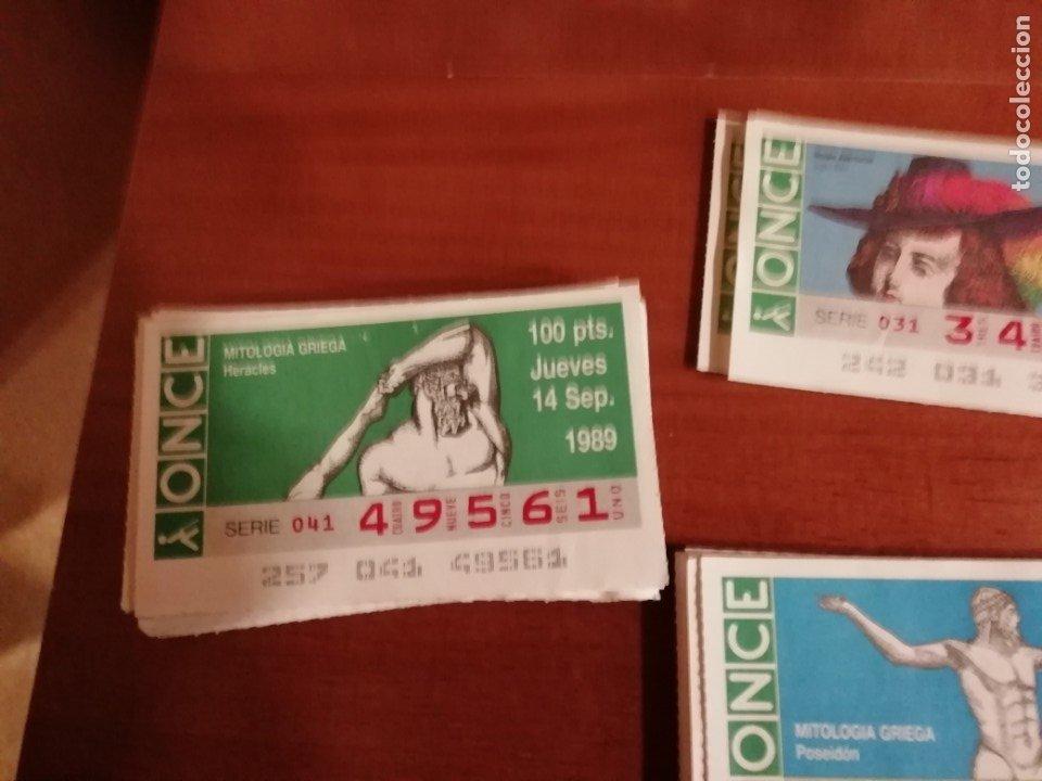 Cupones ONCE: Lote cupones once 1989/90 - Foto 3 - 176498918