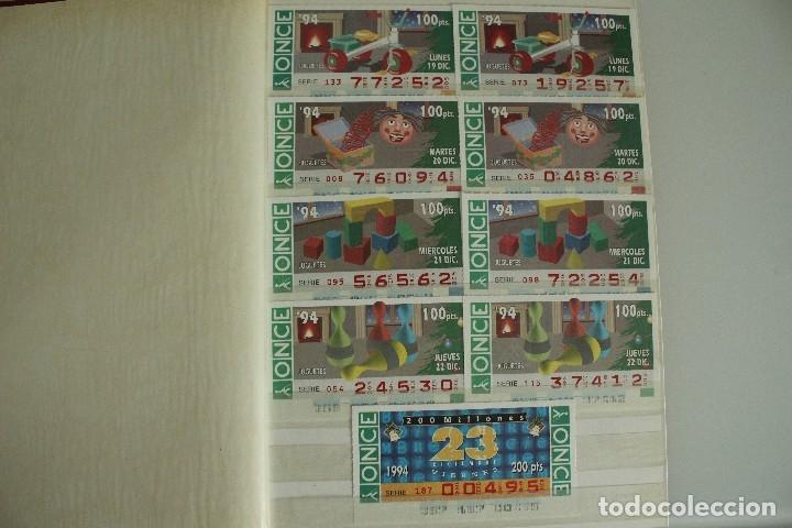 20 CUPONES DISTINTOS AÑOS 90 (Coleccionismo - Lotería - Cupones ONCE)