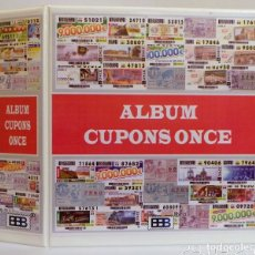Cupones ONCE: ALBUMES CUPONES ONCE SUPERMAMUT. Lote 180845161