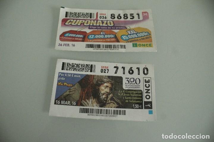 1000 CUPONES AÑOS 90 Y 2000 (Coleccionismo - Lotería - Cupones ONCE)