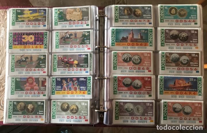Cupones ONCE: CUPONES DE LA ONCE AÑOS 1994.- 1995.- 1996 Y 1997 TODOS EMPIEZAN POR 1 .-2.- 3 O 4 CEROS VER FOTO - Foto 3 - 182276926