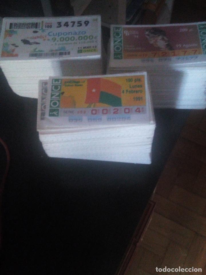 1500 CUPONES DE LA ONCE IDEAL PARA CORRELATIVA (Coleccionismo - Lotería - Cupones ONCE)