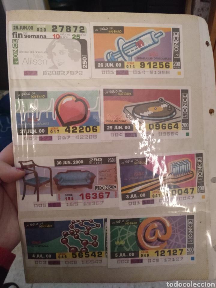 Cupones ONCE: Colección de billetes de la once - Foto 2 - 194877306