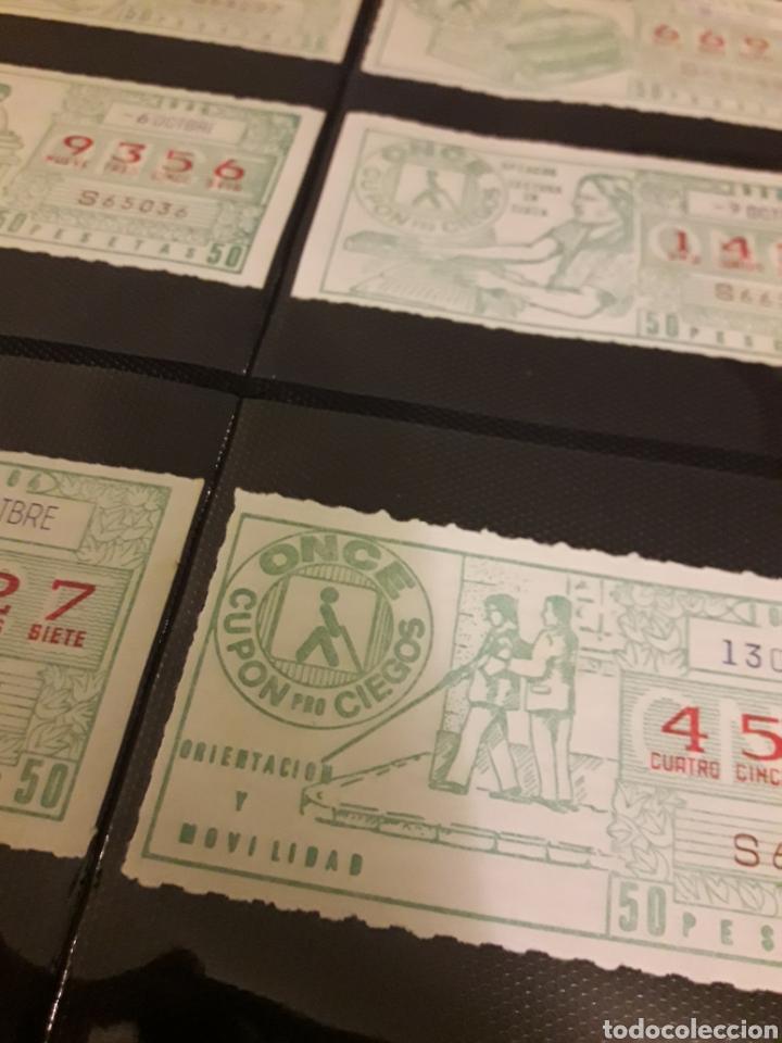 Cupones ONCE: Lote loteria cupon pro ciegos octubre 1984 - Foto 3 - 194889020