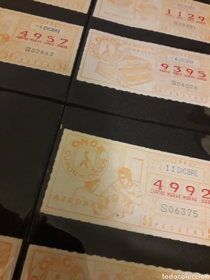 Cupones ONCE: Loteria lote cupon pro ciegos Diciembre 1984 - Foto 2 - 194889982