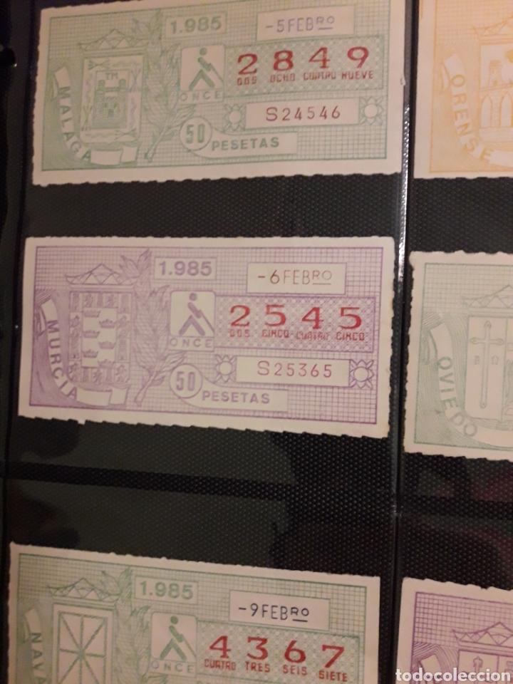 Cupones ONCE: Lote loteria pro ciegos Febrero 1984 - Foto 3 - 194890530