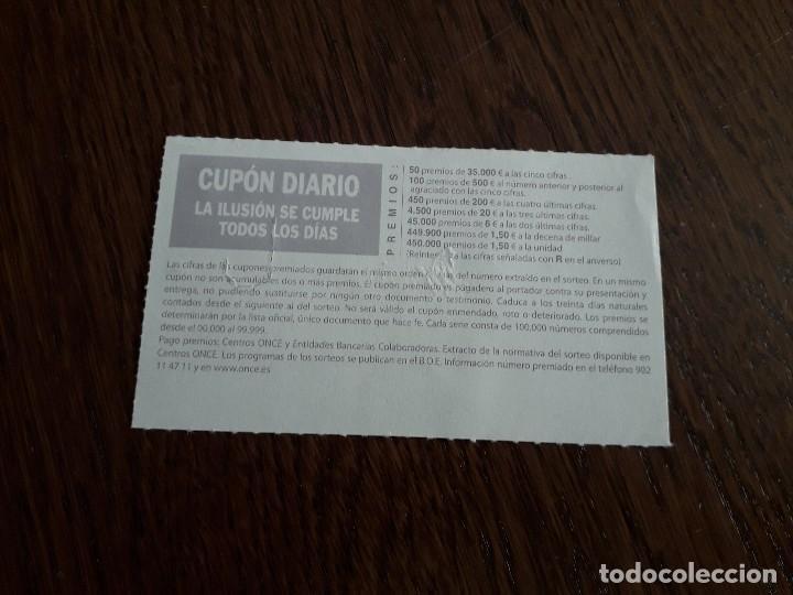 Cupones ONCE: cupón de la once de ayuntamientos de España, Ciempozuelos, Madrid 04-10-07 - Foto 2 - 195334165