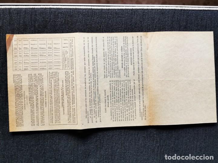 Cupones ONCE: Boletín apuestas quiniela año 1984 - Foto 3 - 195360862