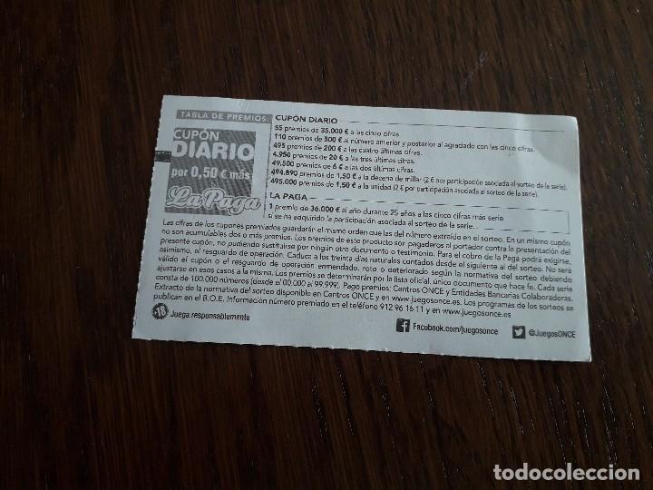 Cupones ONCE: cupón once 04-09-19 comparsa de piratas de Villena, Alicante. fundada en 1939 - Foto 2 - 195435457